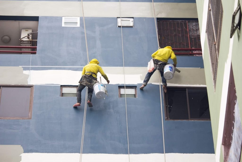 Pearland TX Professional Painting Contractors Home Page Image-We offer Residential & Commercial Painting, Interior Painting, Exterior Painting, Primer Painting, Industrial Painting, Professional Painters, Institutional Painters, and more.