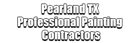 Pearland TX Professional Painting Contractors Logo-We offer Residential & Commercial Painting, Interior Painting, Exterior Painting, Primer Painting, Industrial Painting, Professional Painters, Institutional Painters, and more.